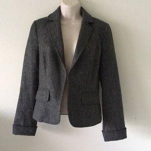 J. crew women's wool blazer work jacket